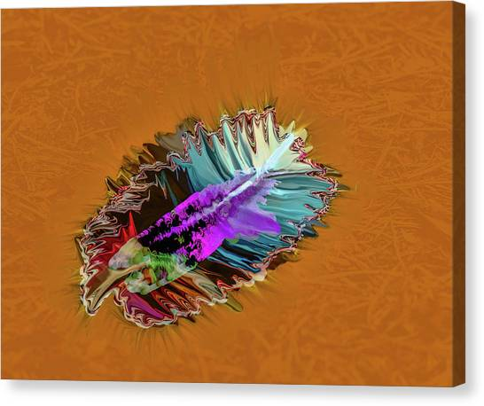 Feather #h8 Canvas Print