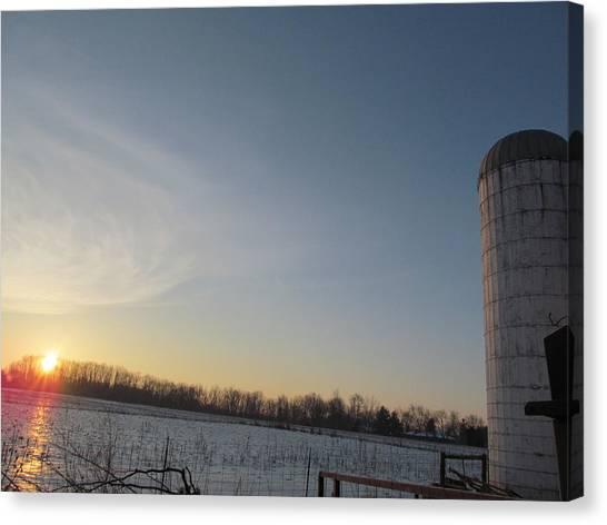 February 28 2013 Sunrise Canvas Print