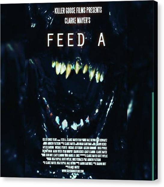 Independent Canvas Print - feed A Is A Cool 11 Minute Short by XPUNKWOLFMANX Jeff Padget