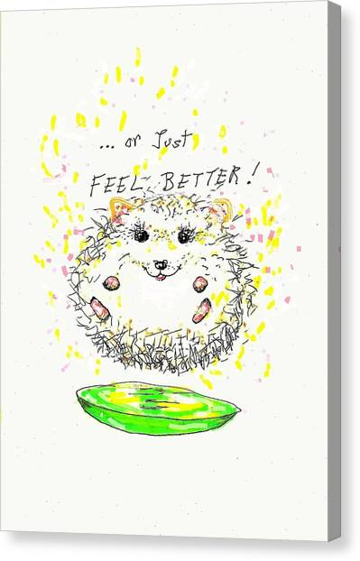 Feel Better Canvas Print