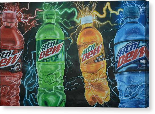Feel The Dew Canvas Print