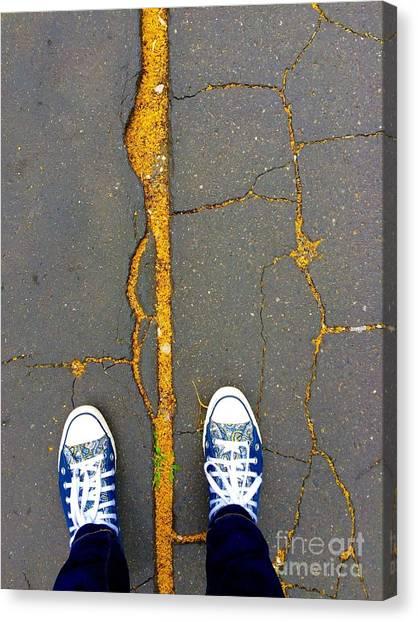 Feet Around The World #26 Canvas Print
