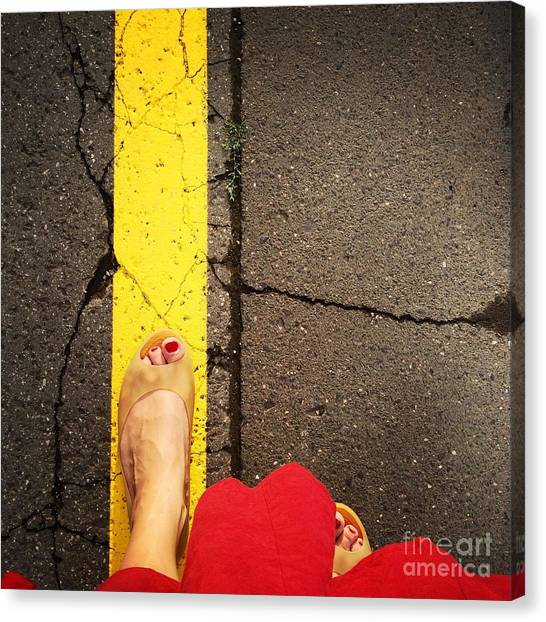 Feet Around The World #27 Canvas Print