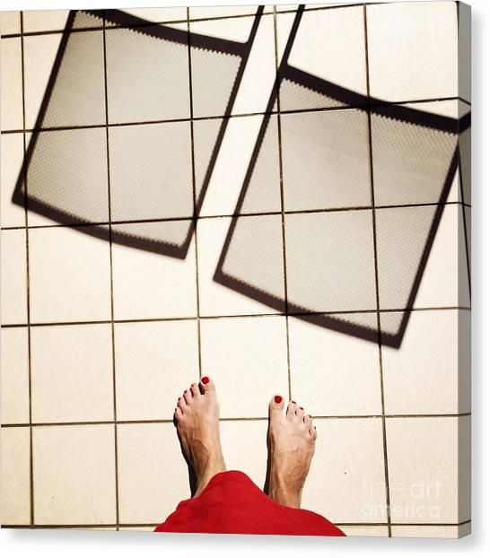 Feet Around The World #28 Canvas Print