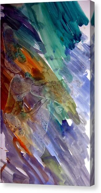 Feet Canvas Print by Leigh Odom