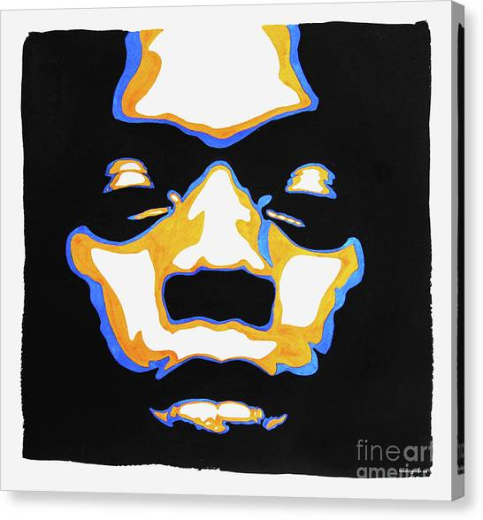 Fela. The First Black President. Canvas Print
