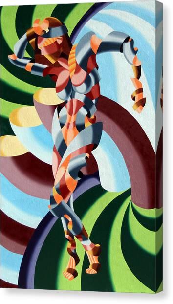 Felicia A Go-go Canvas Print by Mark Webster