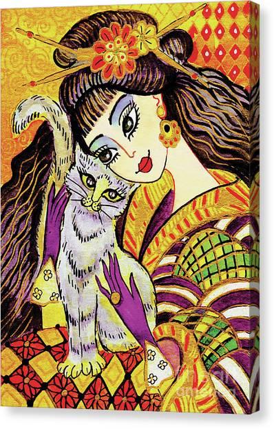 Feline Rhapsody Canvas Print