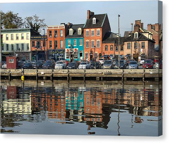 Fells Point 1 Canvas Print