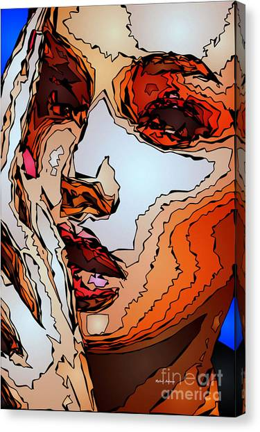 Female Expressions Viii Canvas Print