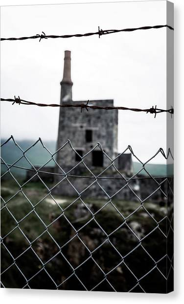 Chain Link Fence Canvas Print - Fenced by Joana Kruse