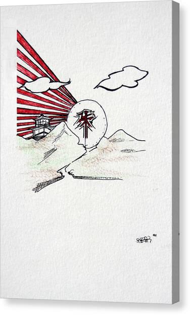 Feng Shui Canvas Print