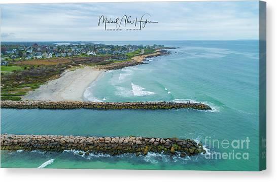 Fenway Beach, Weekapaug Canvas Print