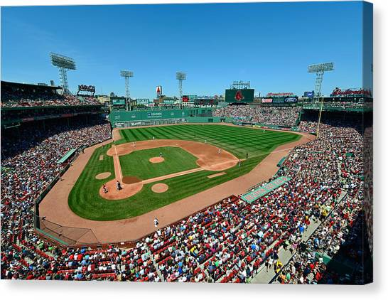 Fenway Park - Boston Red Sox Canvas Print