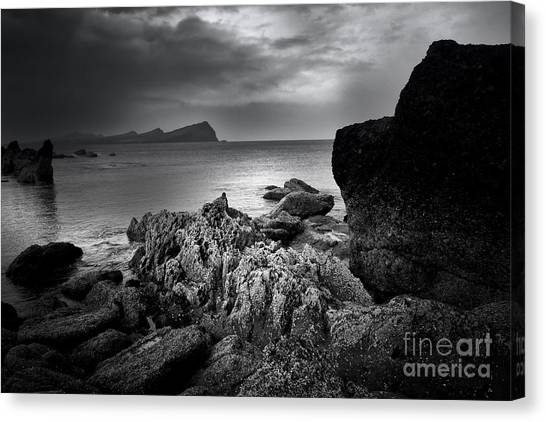 Ireland Canvas Print - Feohanagh, Dingle, Ireland by Smart Aviation