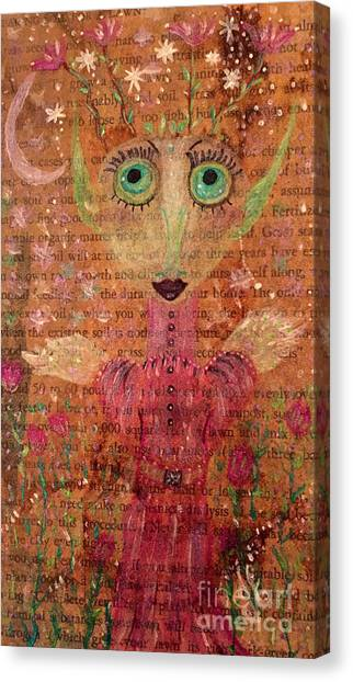 Fern Canvas Print by Julie Engelhardt