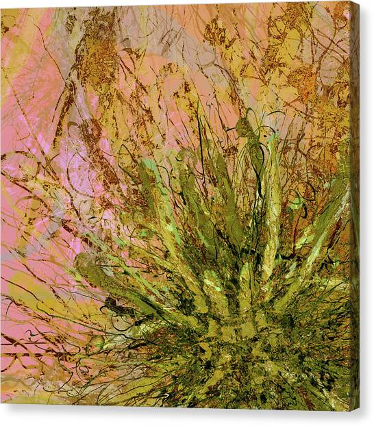 Fern Series 32 Fern Burst Canvas Print