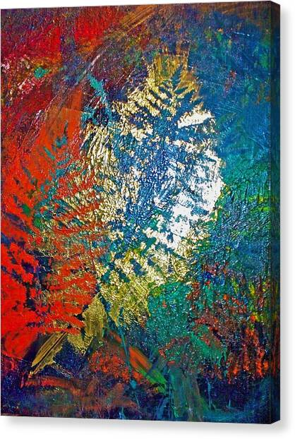 Ferns Canvas Print by Jennifer Addington