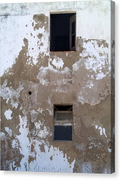 Ferragudo Window Canvas Print