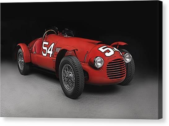 Ferrari 166 036  Canvas Print