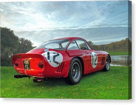 John Adams Canvas Print - Ferrari 1962 330 Lmb II by John Adams