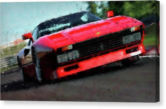 Ferrari 288 Gto - 34  Canvas Print by Andrea Mazzocchetti
