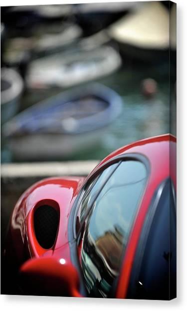 Ferrari 3 Canvas Print by Bobby Bouchikhi