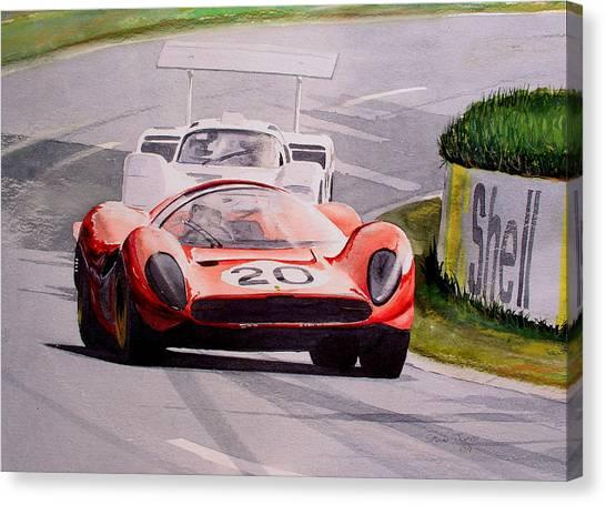 Ferrari P4 Le Mans Canvas Print