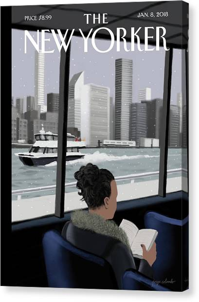 Ferried Across Canvas Print