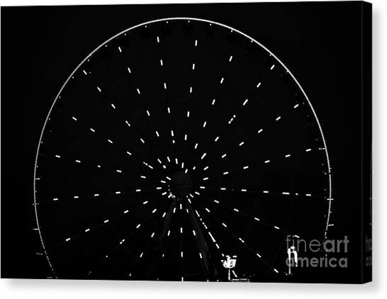 Ferris Wheel Pigeon Forge Canvas Print