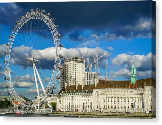 Canvas Print - Ferris Wheel by Ric Schafer