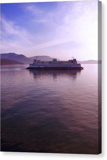 Ferry Ride Through The San Juans Canvas Print by Karla DeCamp