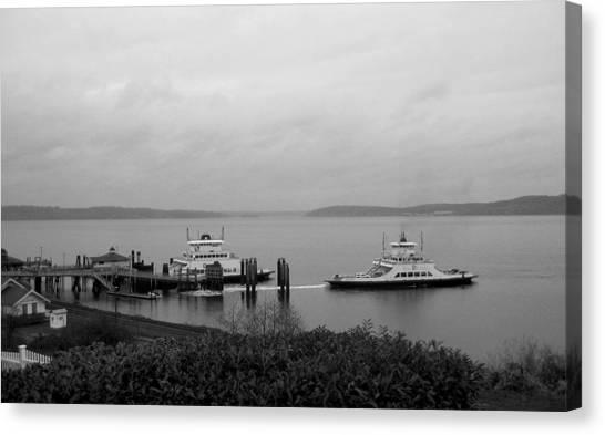 Ferry Canvas Print by Ty Nichols