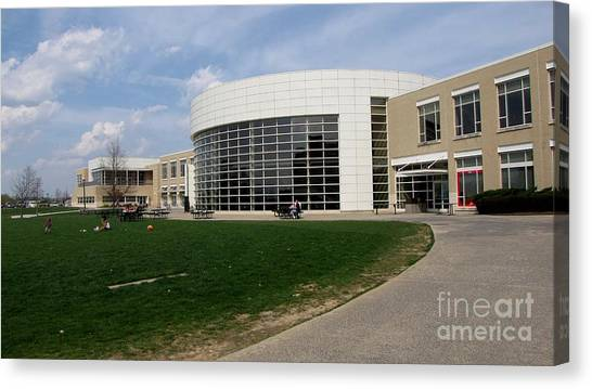 James Madison University Jmu Canvas Print - Festival Conference And Student Center by Ben Schumin
