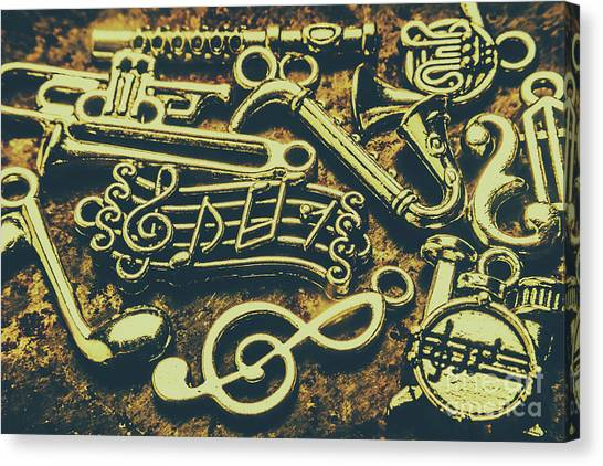 Trombones Canvas Print - Festival Of Song by Jorgo Photography - Wall Art Gallery