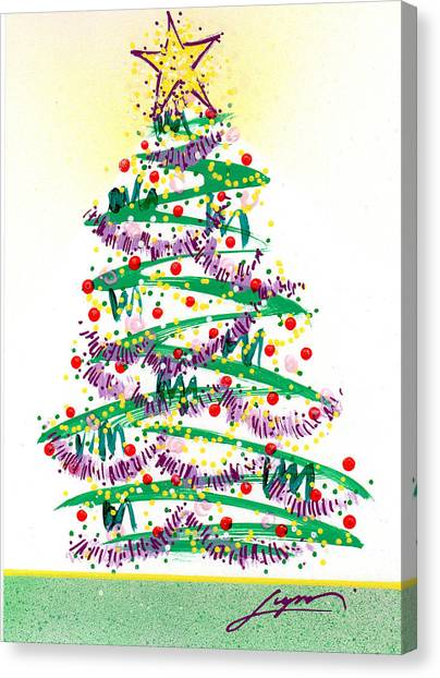 Festive Holiday Canvas Print