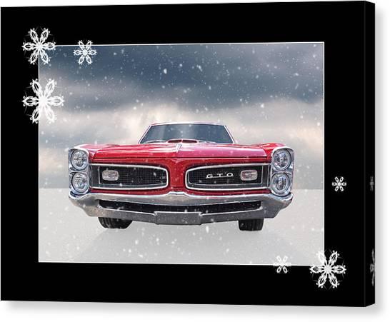 Festive Pontiac Gto Canvas Print
