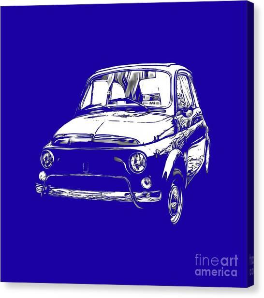 Fiat Canvas Prints