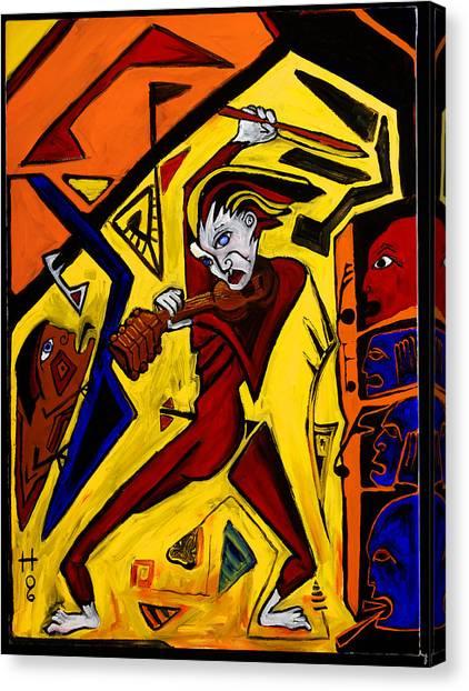 Fiddler 40x30 Canvas Print