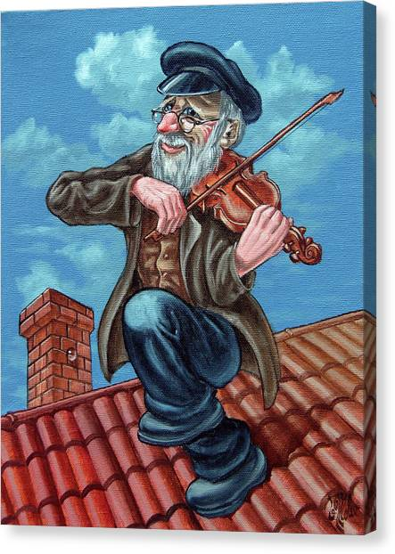 Fiddler On The Roof. Op2608 Canvas Print
