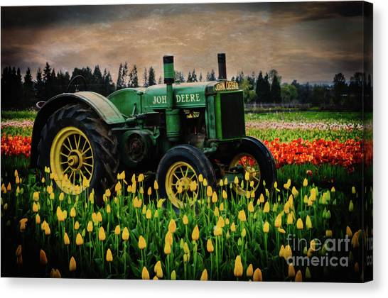 Field Master Canvas Print