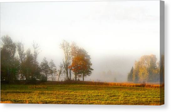 Field Of The Morn Canvas Print