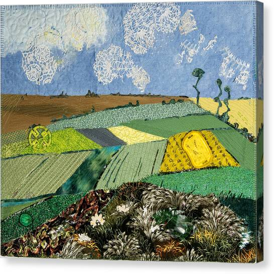 Fields To Gogh Canvas Print