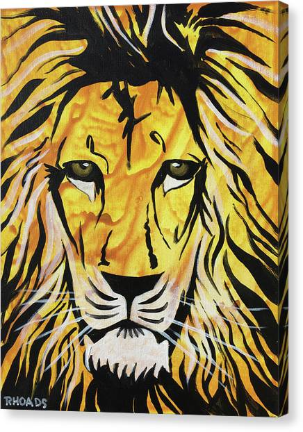Prophetic Art Canvas Print - Fierce Protector 2 by Nathan Rhoads