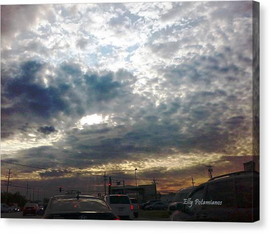 Fierce Skies Canvas Print