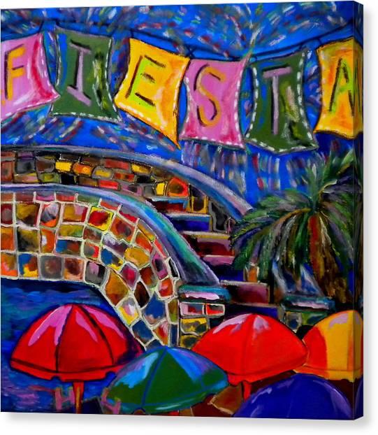Fiesta Canvas Print by Patti Schermerhorn