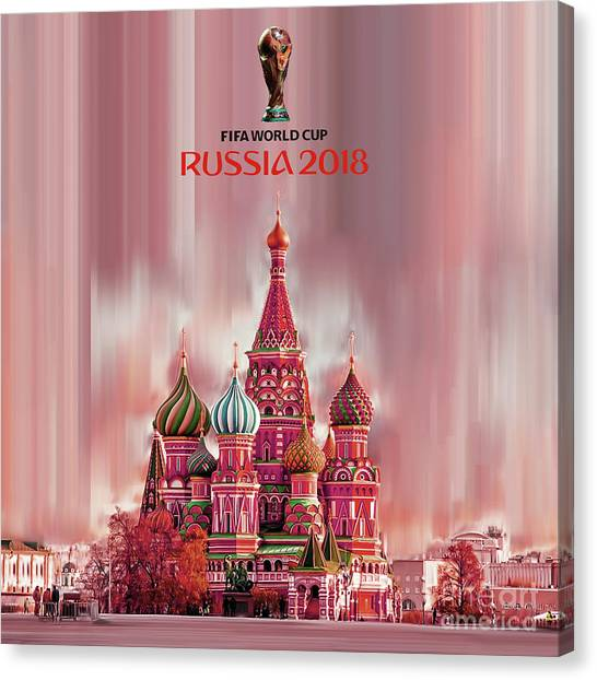 Lionel Messi Canvas Print - Fifa World Cup 2018 Russia  by Gull G