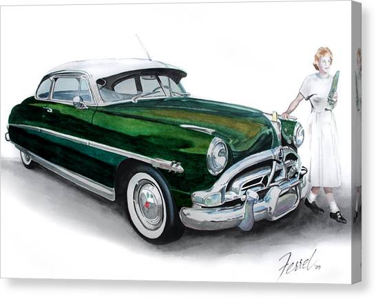 Fifty-one Hudson Canvas Print by Ferrel Cordle