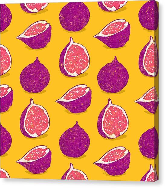 Fruit Trees Canvas Print - Fig by Evgenia Chuvardina