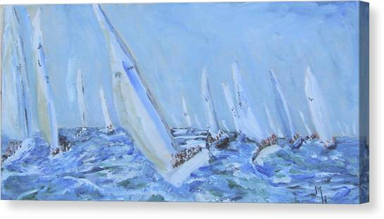 Figawi Frenzy Canvas Print